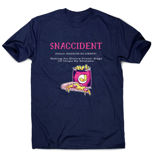 Snaccident - men's funny premium t-shirt - Graphic Gear