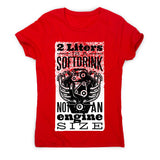 Soft drink - women's funny premium t-shirt - Graphic Gear