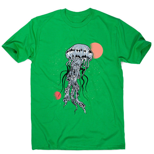 Space jellyfish - men's funny illustrations t-shirt - Graphic Gear