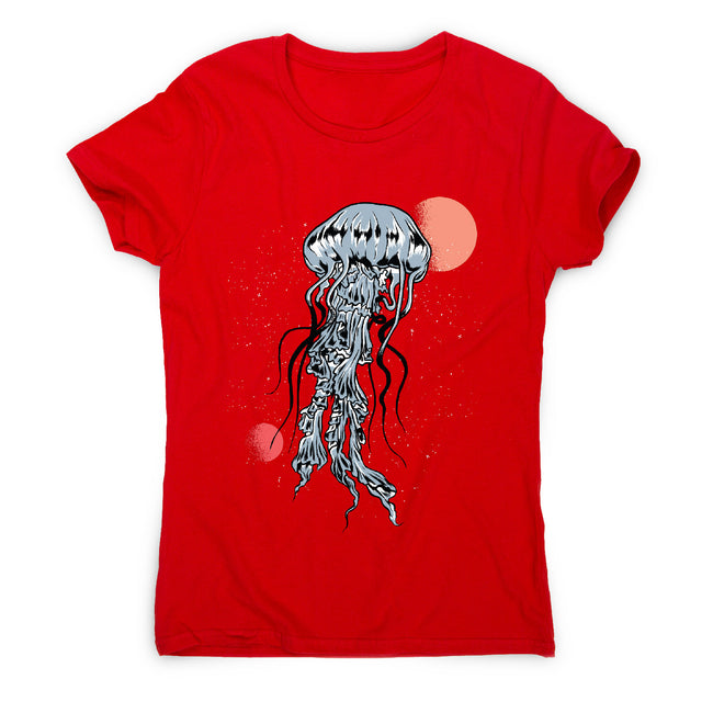 Space jellyfish - women's funny illustrations t-shirt - Graphic Gear