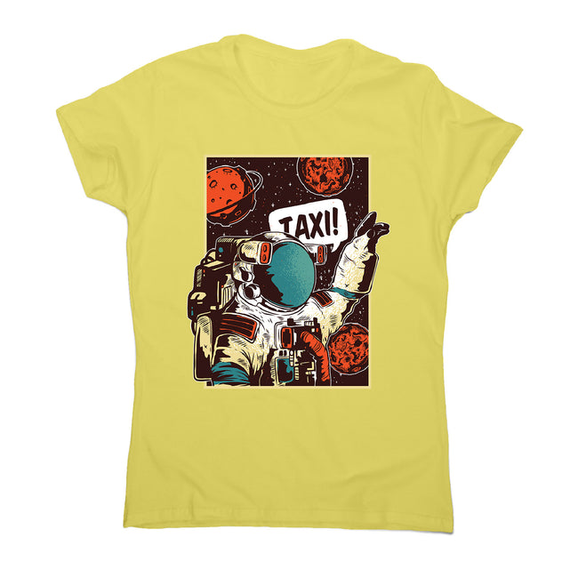 Space ride - women's funny illustrations t-shirt - Graphic Gear