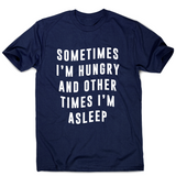 Sometimes funny foodie slogan t-shirt men's - Graphic Gear