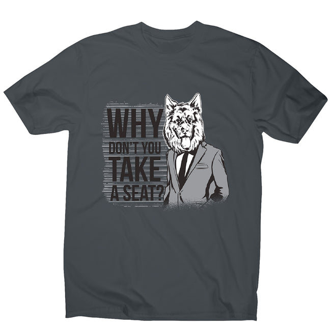 Take a seat - men's funny premium t-shirt - Graphic Gear