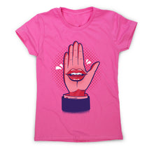 Load image into Gallery viewer, Talk hand - women's funny premium t-shirt - Graphic Gear