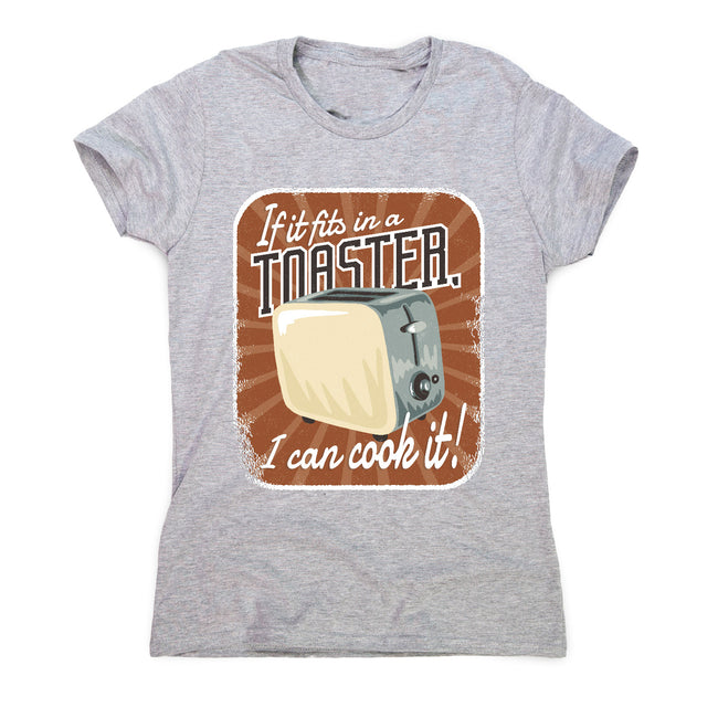 Toaster quote - women's funny premium t-shirt - Graphic Gear