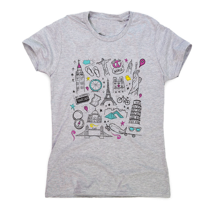 Travel t-shirt - women's motivational t-shirt - Graphic Gear