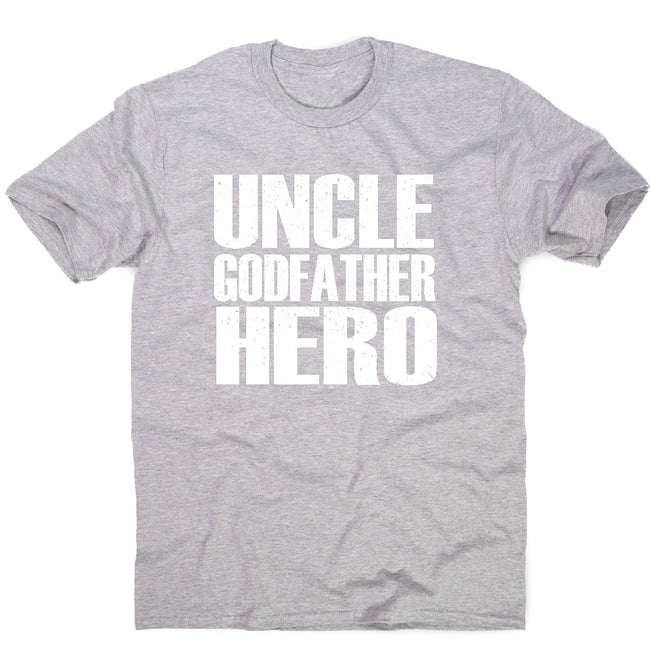 Uncle hero - men's t-shirt - Graphic Gear