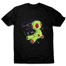 Load image into Gallery viewer, Voodoo doll - funny men's t-shirt - Black / S - Graphic Gear