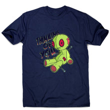 Load image into Gallery viewer, Voodoo doll - funny men's t-shirt - Navy / S - Graphic Gear