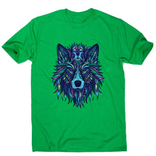 Load image into Gallery viewer, Wolf illustration - men's funny illustrations t-shirt - Graphic Gear