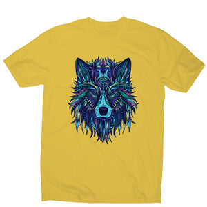 Wolf illustration - men's funny illustrations t-shirt - Graphic Gear