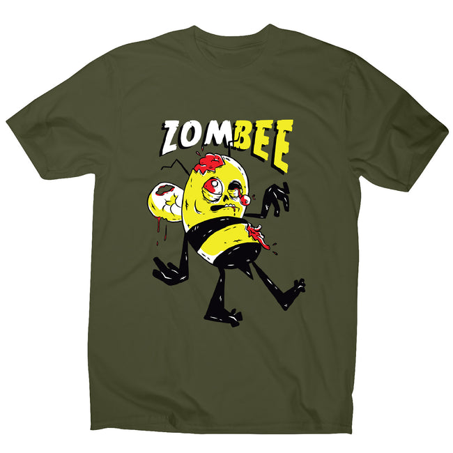 Zombie bee - men's funny premium t-shirt - Graphic Gear