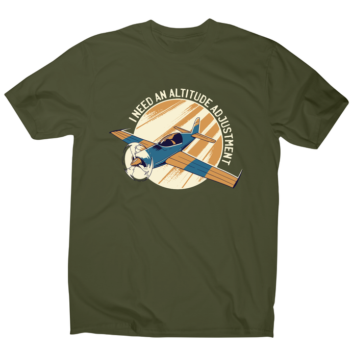 Airplane flying quote funny t-shirt men's - Graphic Gear