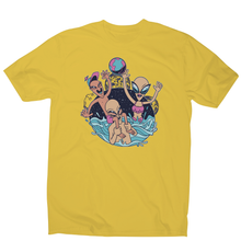 Load image into Gallery viewer, Alien pool party funny design t-shirt men's - Graphic Gear