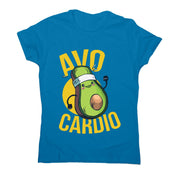 Avocardio - women's funny premium t-shirt - Graphic Gear