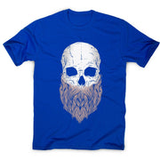 Bearded skull - halloween men's t-shirt - Graphic Gear