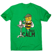 Bee calm - men's funny premium t-shirt - Graphic Gear