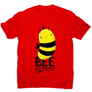 Bee different quote awesome design t-shirt men's - Graphic Gear
