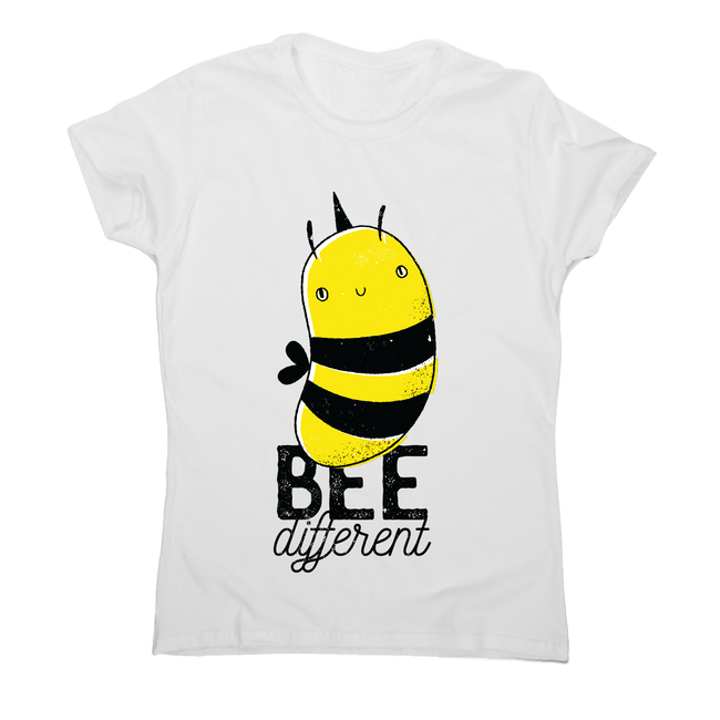 Bee different quote awesome design t-shirt women's - Graphic Gear