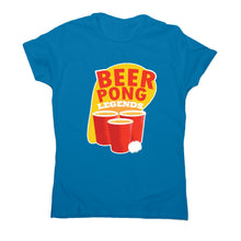 Load image into Gallery viewer, Beer pong - women's funny premium t-shirt - Graphic Gear