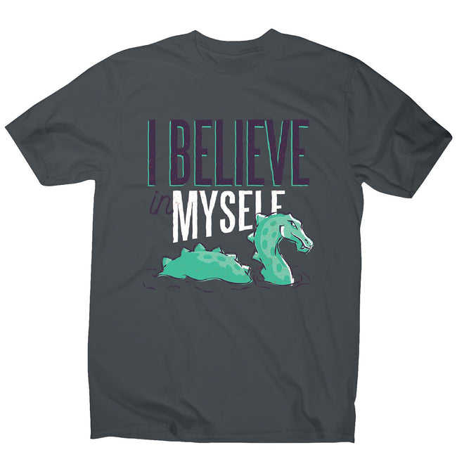 Believe loch ness monster - men's funny premium t-shirt - Graphic Gear