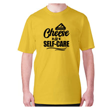 Load image into Gallery viewer, Cheese is self-care - men's premium t-shirt - Graphic Gear