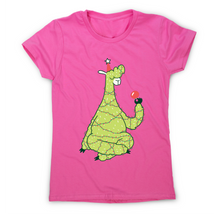 Load image into Gallery viewer, Christmas tree llama funny t-shirt women's - Graphic Gear