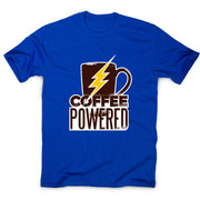 Coffee powered - men's t-shirt - Graphic Gear