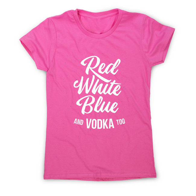Colors and vodka - women's funny premium t-shirt - Graphic Gear