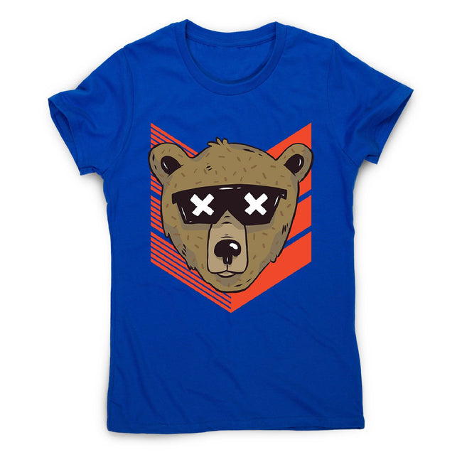 Cool bear sunglasses - women's funny illustrations t-shirt - Graphic Gear
