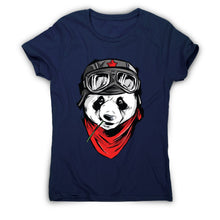 Load image into Gallery viewer, Cool panda - illustration women's t-shirt - Graphic Gear