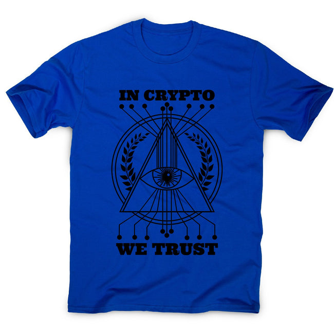 Crypto trust - men's funny premium t-shirt - Graphic Gear