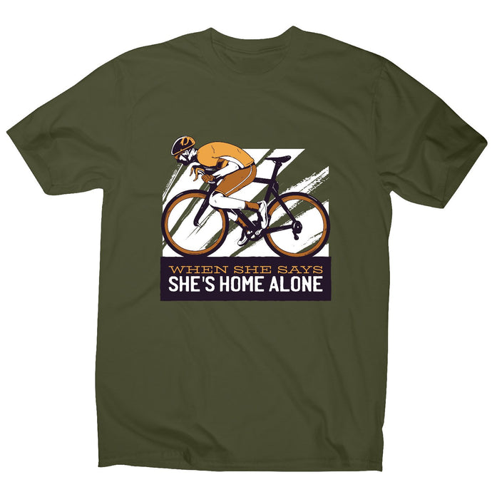 Cyclist quote - men's t-shirt - Graphic Gear