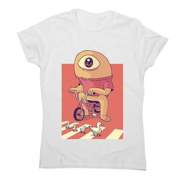Cyclops - women's funny illustrations t-shirt - Graphic Gear
