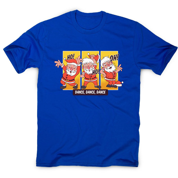 Dancing santa christmas - men's t-shirt - Graphic Gear