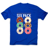 Donut six pack - men's funny premium t-shirt - Graphic Gear