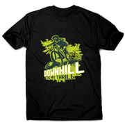 Downhill biking awesome mountain bike t-shirt men's - Graphic Gear
