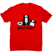 Ever forget funny tape t-shirt design men's - Graphic Gear