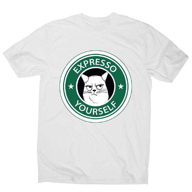 Expresso yourself - men's funny premium t-shirt - Graphic Gear
