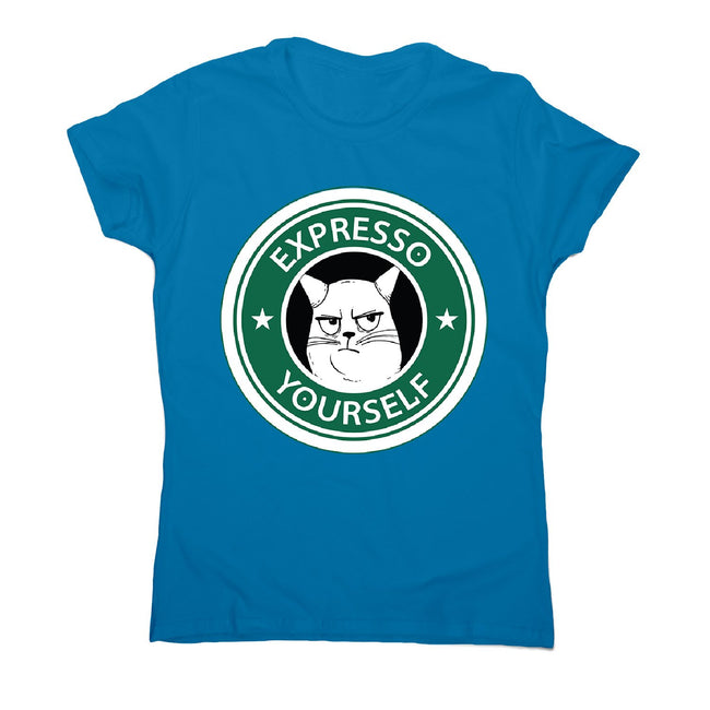 Expresso yourself - women's funny premium t-shirt - Graphic Gear