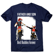 Father son best buddies - men's  premium t-shirt - Graphic Gear