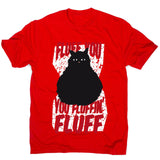 Fluffy cat - men's funny premium t-shirt - Graphic Gear