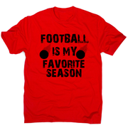 football is my favorite awesome funny t-shirt men's - Graphic Gear