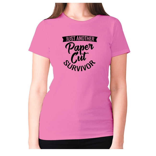 Just another paper cut survivor - women's premium t-shirt - Graphic Gear