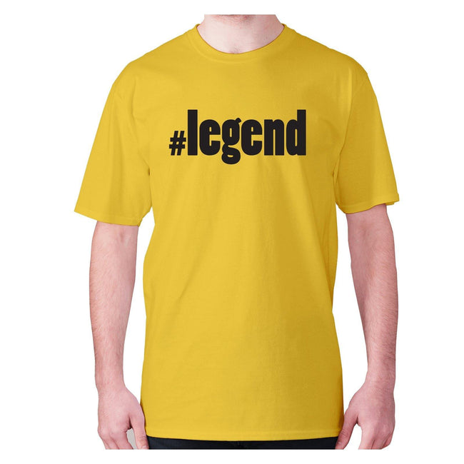 #legend - men's premium t-shirt - Graphic Gear