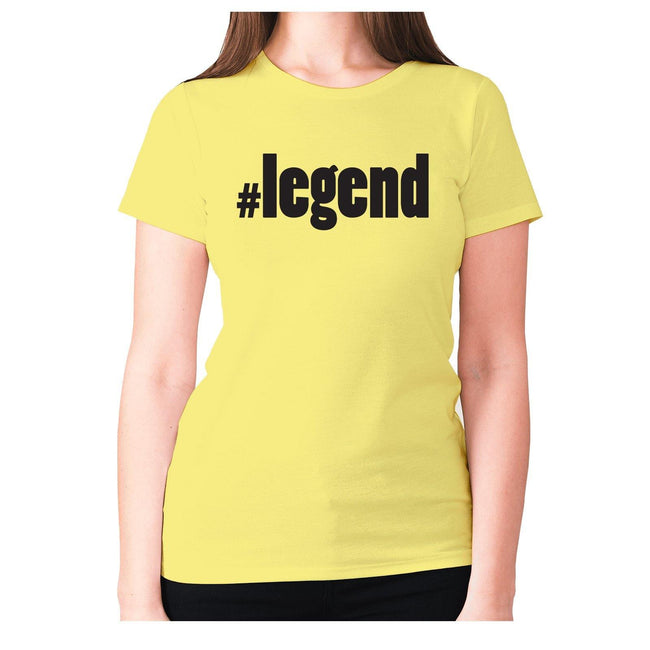 #legend - women's premium t-shirt - Graphic Gear