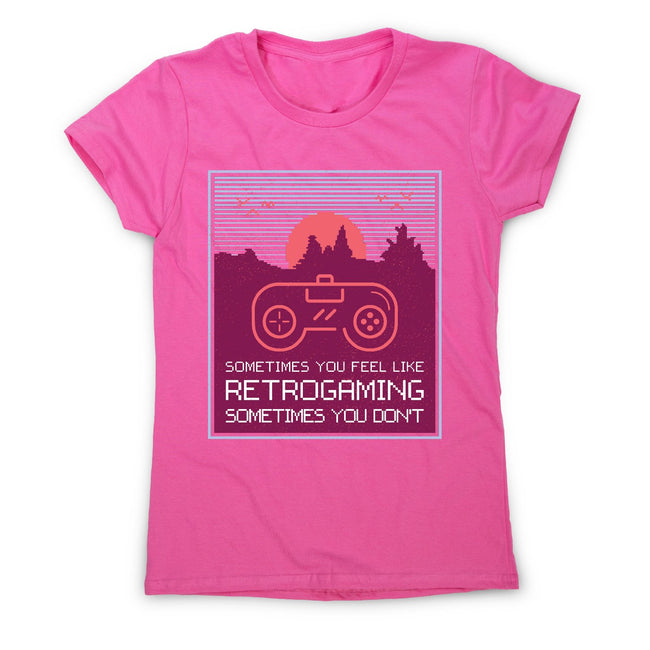 Retrogaming - women's funny premium t-shirt - Graphic Gear