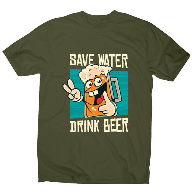 Save water - men's funny premium t-shirt - Graphic Gear