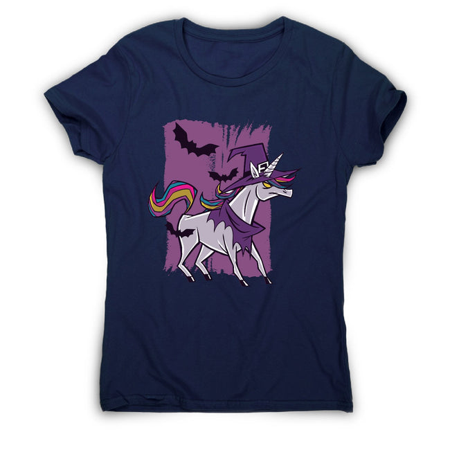 Witch unicorn - women's funny premium t-shirt - Graphic Gear