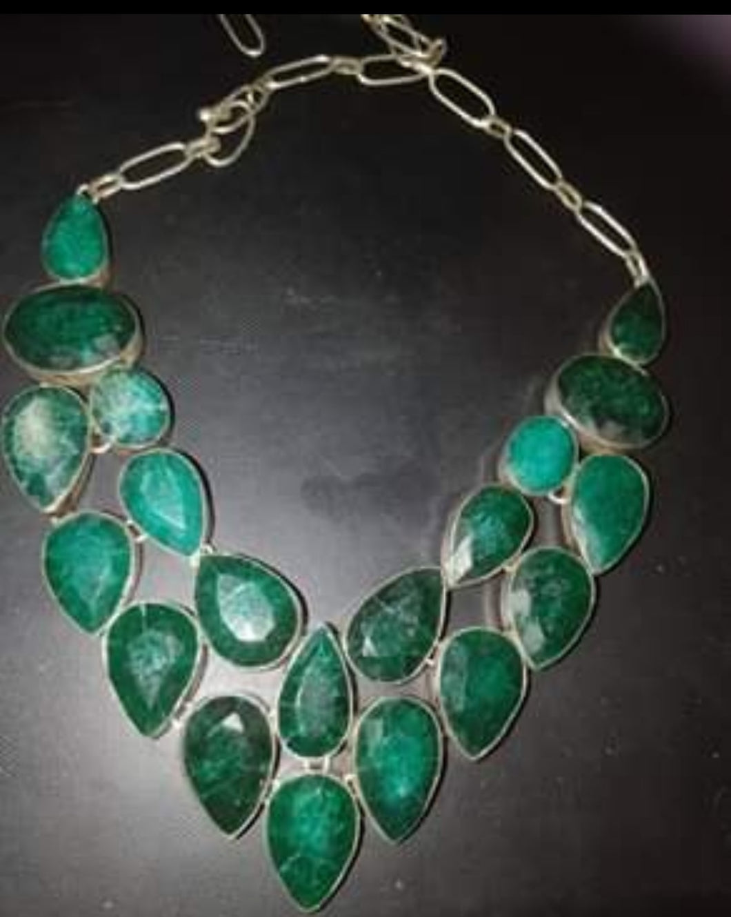 Stunning Emerald necklace